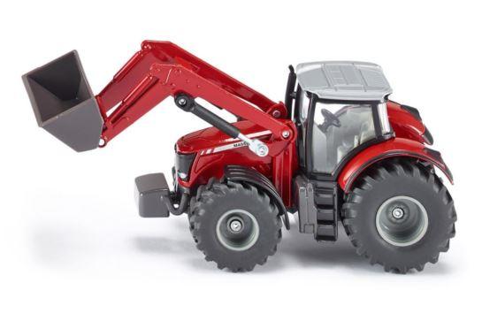 Siku 1985 Traktor Massey Ferguson 8690 z Ładowarką
