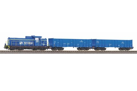 PIKO 97937 Zestaw Startowy PKP SM42-606 Cargo Ep.VI