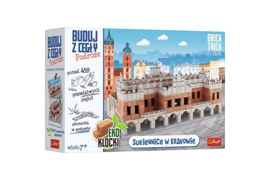 Buduj z Cegły Sukiennice Kraków Brick Trick