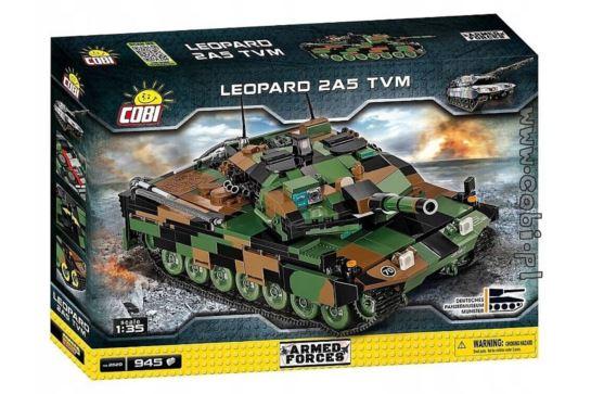 Klocki Cobi 2620 Czołg Leopard 2A5 TVM