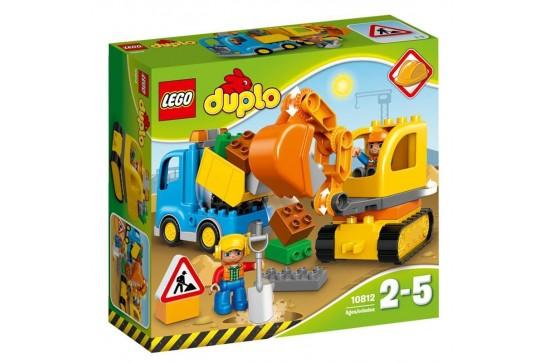 LEGO Duplo Ciężarówka i Koparka Gąsienicowa 10812